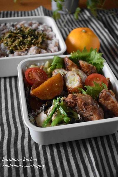【肉巻きカレーマスタード】#お弁当おかず#作り置き#冷凍保存#肉巻き …ユニクロ極暖シリーズ