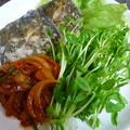 【お魚の唐揚げ】に野菜のあんをのせて♪