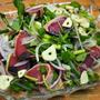 カツオの薬味サラダ