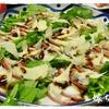 バルサミコ柚子胡椒ドレッシングでタコのカルパッチョ!