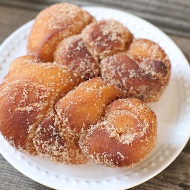 【簡単!パンレシピ】簡単!もっちり♪シナモンシュガー揚げパン