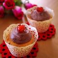 春の桜で♪簡単カップケーキ☆ホワイトデーや毎日のおやつ、お花見に by めろんぱんママさん