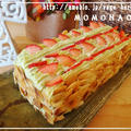変色しないアボカドクリームでダイエットいちごケーキ by MOMONAOさん