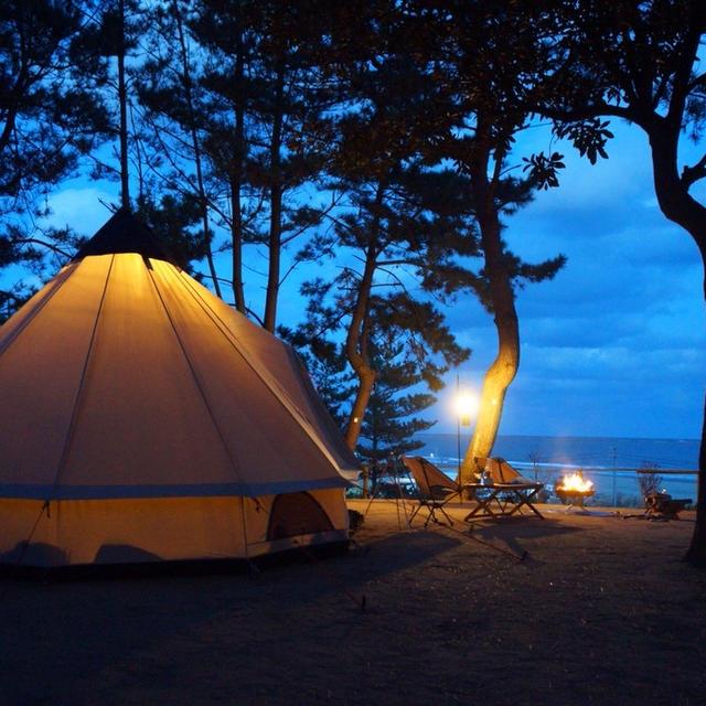 海キャンプ♪大洗サンビーチキャンプ場②