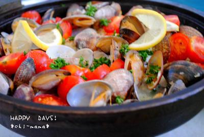 アウトドア料理★お手軽アクアパッツァの作り方