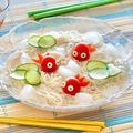 トマト金魚そうめん (レシピ)   英語料理 レシピ動画   OCHIKERON by オチケロンさん
