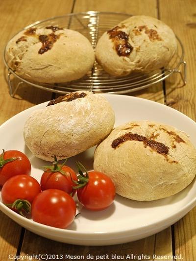 ホシノ天然酵母deトマト&プルーンブレッド