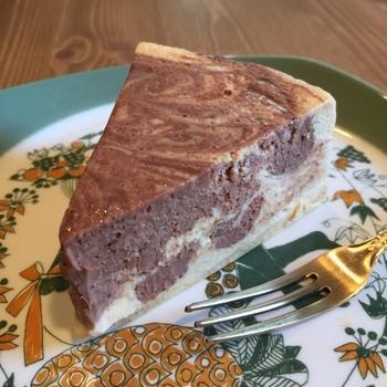 マーブルチョコのチーズケーキ♪と今週の営業予定。