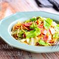 ♡簡単・時短・節約♡ベーコンキャベツのバタポンパスタ♡【#麺#ランチ】