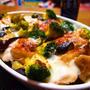 カンタンおつまみレシピ 【鶏肉と野菜のラクレットチーズ焼き】