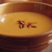 サフランを使って! pumpkin soup