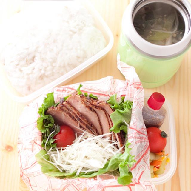 お弁当『煮ない煮豚で丼にしてほしい』