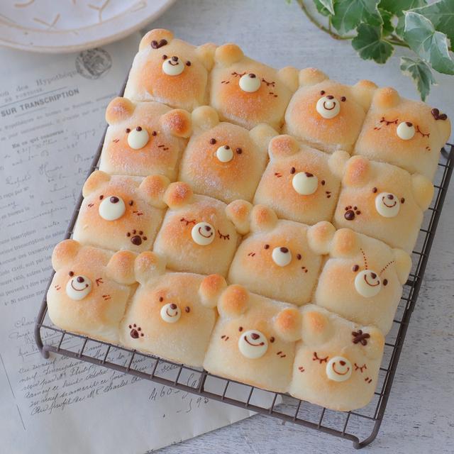 カワイコちゃんなちぎりパン♪