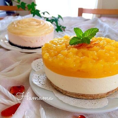 主人の誕生日に〜2種類のチーズケーキ♡お稲荷テッドのお弁当
