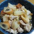【旨味じゅわっ~♪】白菜と豚こまの煮物♪