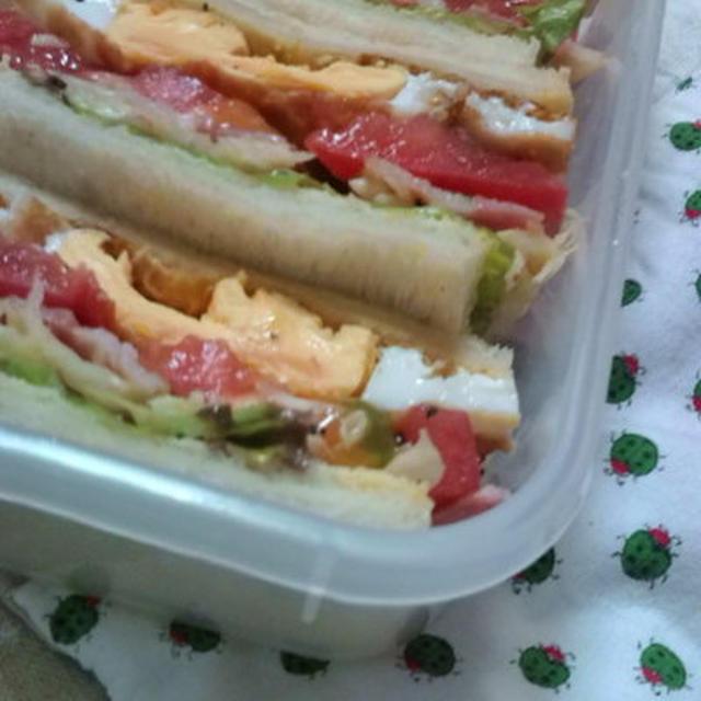 B.E.C.L.T Sandwich