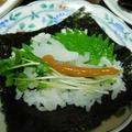 手巻き寿司〜イカの梅しそ巻き〜スパイス大使☆