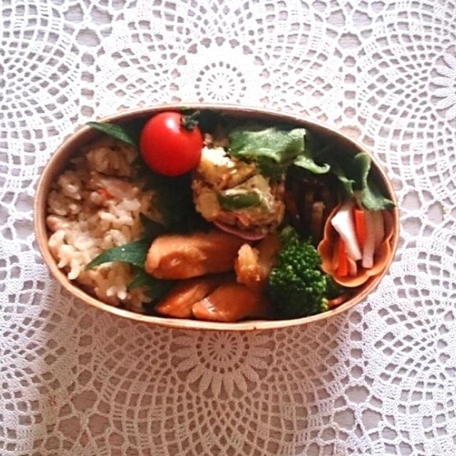 常備菜で簡単お弁当~2016年まであと1ヶ月~