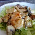 海老のマヨチリ炒め /ヨガでリフレッシュ