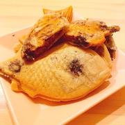 【ヘルシースイーツ】小麦粉・たまご・乳製品不使用!もちもち♪米粉のチョコクリームたい焼き