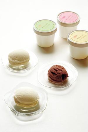 300年続く京都の料亭がつくりだした、和菓子のようなアイスクリームで、白味噌山椒、しょうが飴、小倉八...
