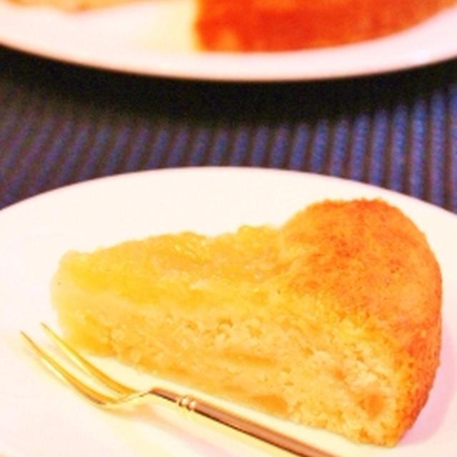 超簡単♪リンゴの甘煮とマヨネーズのケーキ