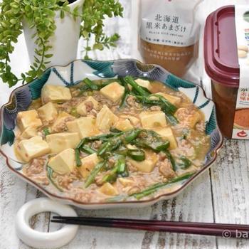 !甘酒で作るこくまろ麻婆豆腐