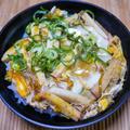 お節の残りの蒲鉾で「カマ玉丼」&「どん兵衛ちゃんぽんうどん」が美味しかった