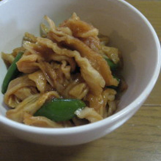 ササッと簡単 切干大根の中華煮&記憶のつながり