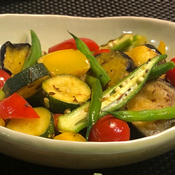 夏野菜のサブジ