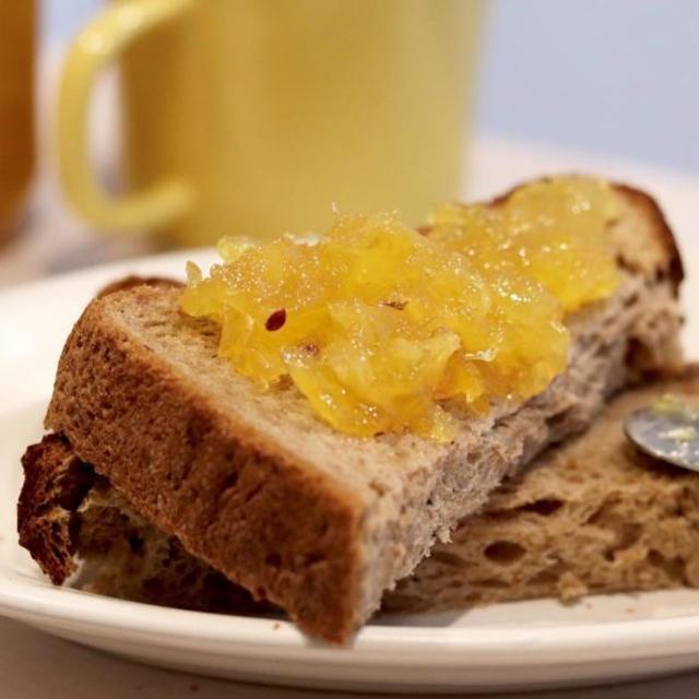 手作り『パイナップルジャム』#レシピ#朝食#トースト#おうち時間