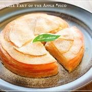 りんごのミルフィーユタルト