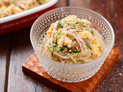 味がしみしみ♡ごちそう春雨サラダ【#作り置き #お弁当 #冷めてもくっつかない #副菜】