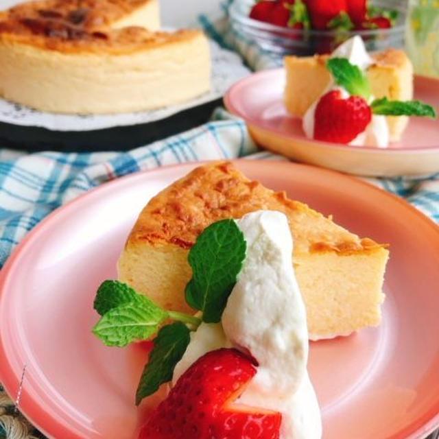 焼き芋でケーキ!さつまいもとマスカルポーネのチーズケーキ【お砂糖なし】(動画有)