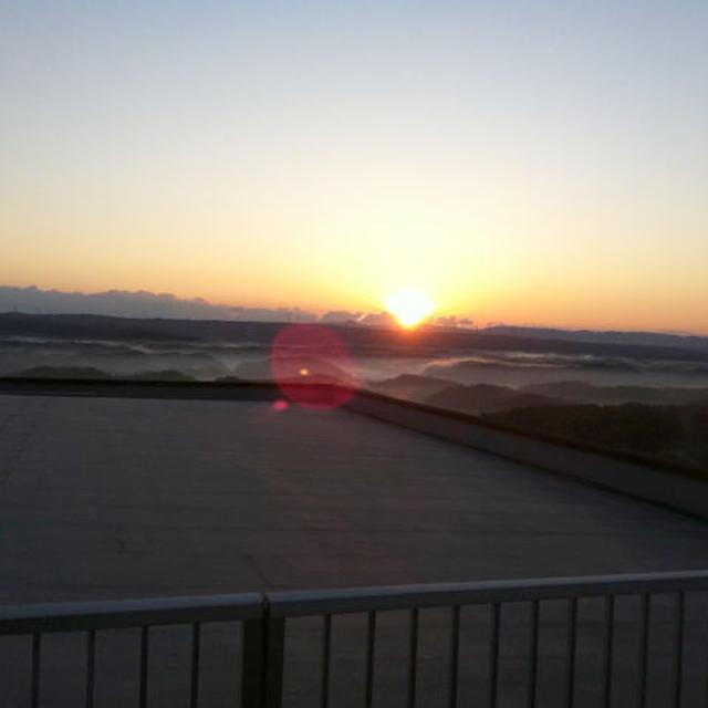 能登の朝日♪