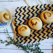 【簡単!袋deもみもみ♪1 hour bread(ワンアワーブレッド) 】うずまき黒糖パン