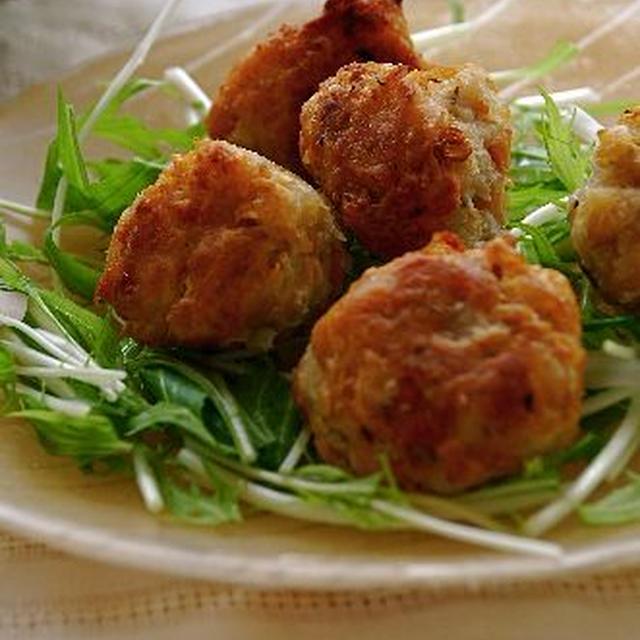 大豆と里芋のフライドチキン