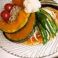 冷麦のモリモリ野菜盛り