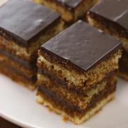 なんちゃって「オペラ」 チョコレートケーキの作り方♪