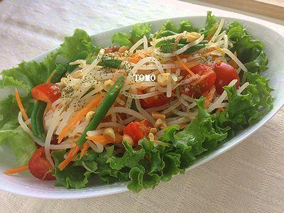 GABAN香菜 de もやしのタイ風サラダ