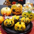 【ハロウィン】芋栗かぼちゃ☆ジャック・オ・ランタン by とまとママさん