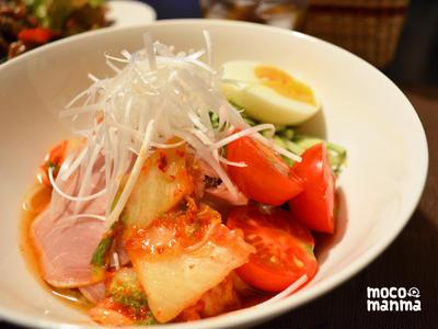 ひんやりさっぱり*手作りスープの夏冷麺*