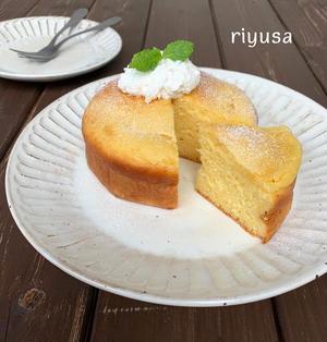 【パパッと作れるおやつ】カルピスのしっとりケーキ