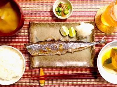 内臓の臭みの出ない☆秋刀魚の捌き方