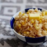 [レシピ]夏のお楽しみ♡バター醤油とうもろこしご飯☺︎