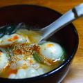 じゃが豚と餃子の中華スープ。 by めすおさん