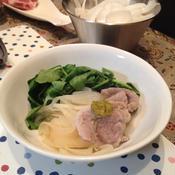 ローズマリー塩豚のさっぱりお鍋