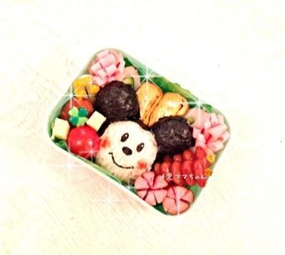 簡単・ミッキーのキャラ弁☆作り方