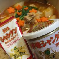 創味シャンタンでシメまで美味しい♪鶏肉と冬瓜のピリ辛鍋♪