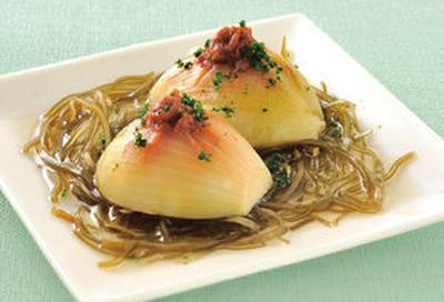 玉ねぎの味噌煮